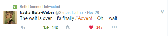Advent Tweet