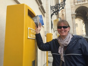 Beth At Vatican Mailbox