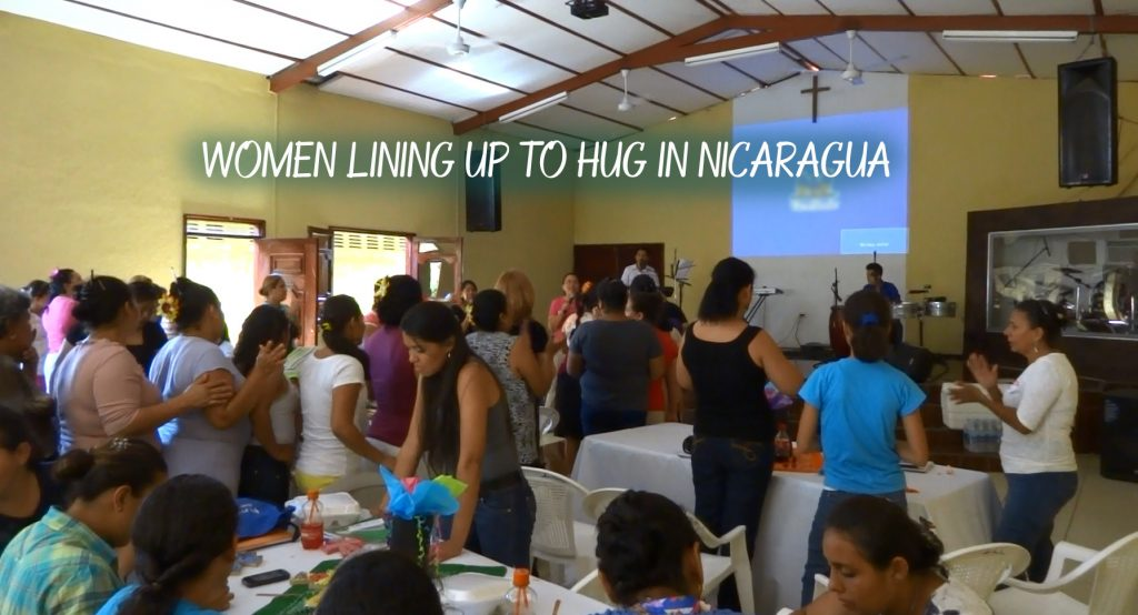 Hugging in Nica by Beth Demme